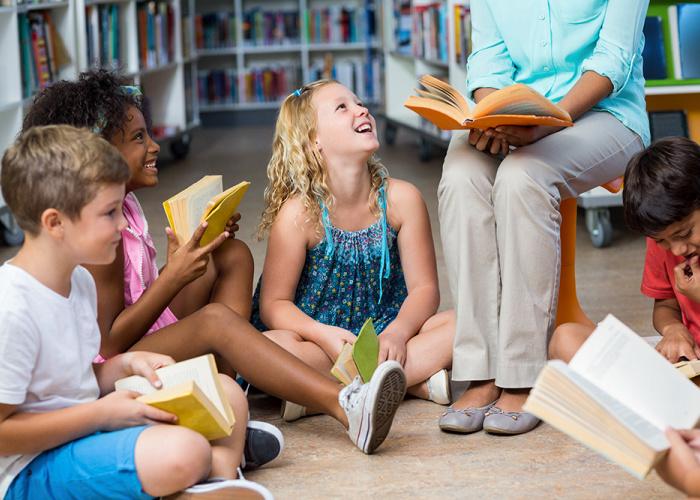 Kinderen die lezen